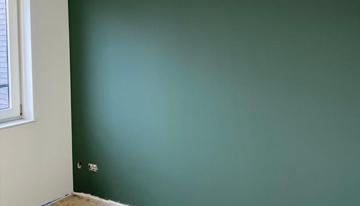 foto van een van de mogelijkheden voor wandafwerking van Schildersbedrijf Marc Hellegers